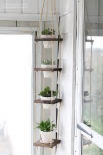 Vertical Garden Hangers - diy vertical plant hanger i heart nap time