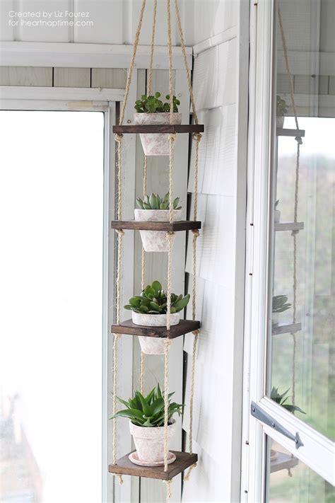 Diy Plant Hanger - diy vertical plant hanger i nap time