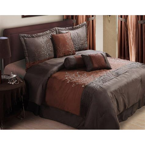walmart king size bedding 13 willow 20 piece comforter set spice king size