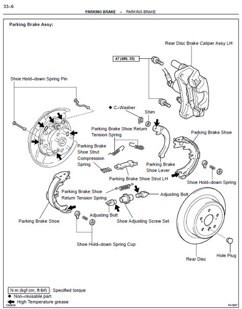 manual repair autos 2005 toyota 4runner parking system service manual 1997 toyota 4runner brake replacement system diagram rear brake shoes toyota