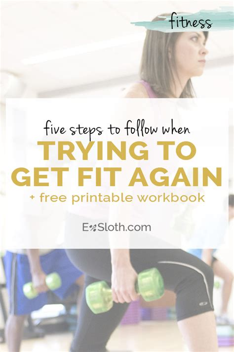 5 Things To Inspire You To Get Fit Now by 5 Things You Need To Do Before You Start Gymming Again
