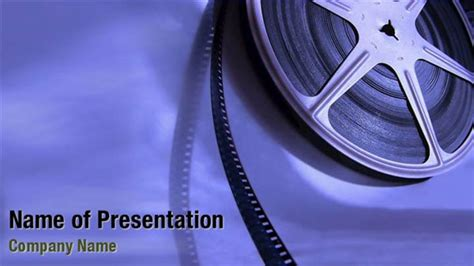 movie film reel powerpoint templates movie film reel