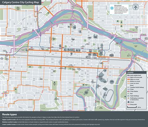 calgary cycling paths infrastructure page 99 the city of calgary downtown cycle track pilot project