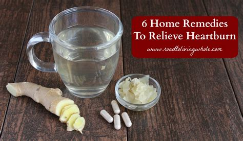 Home Remedy Heartburn by 6 Home Remedies For Heartburn