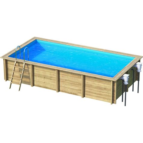 Piscine Rectangle Hors Sol