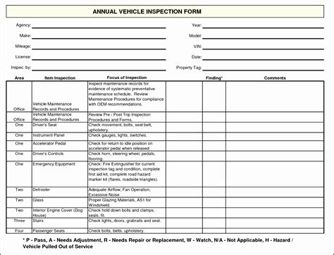 car service check sheet template car maintenance checklist form ducfl unique vehicle