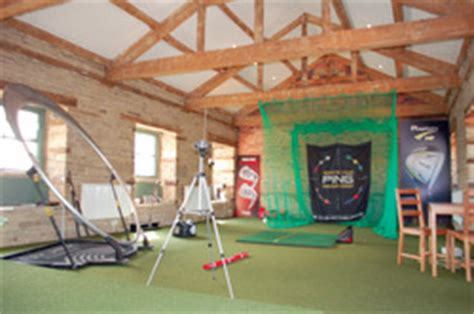 golf swing studio practice facilities
