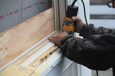 fensterbank plastik patching rotted window sills how to
