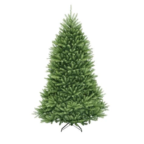 artificial tree prelit 7 5 ft unlit dunhill fir artificial tree duh3