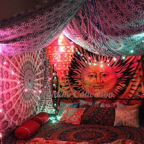 all that jazz wall tapestries and tapestries on pinterest buy karvi sun moon tie dye wall tapestry online at