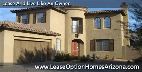 arizona rent to own homes lease option homes arizona