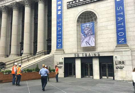 look see inside penn station s brand new west end