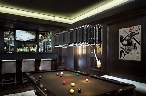 Awesome Modern Pool Light With Attractive Look Best Billiard Room Lighting Fixtures