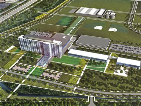 ford headquarters ford motor dearborn cus gets modern facelift