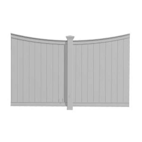 oasis pergolas privacy fence panel va42013 the home depot