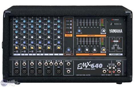 Power Mixer Yamaha Emx user reviews yamaha emx640 audiofanzine