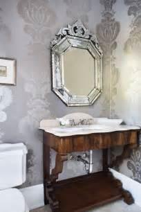 Elegant Wallpaper For Powder Room Elegant Powder Room Design Ideas