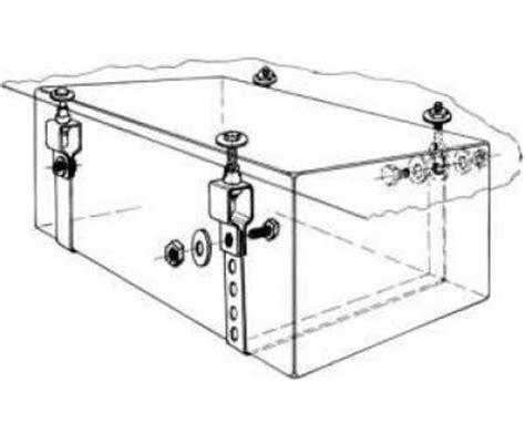 Wassertank Unterflur by Montage Set F 252 R Wassertanks 61202 Reimo