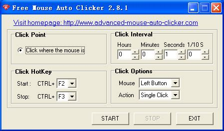 Auto Mouse Clicker by Free Mouse Auto Clicker 3 0 Download