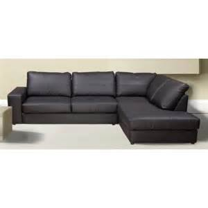 The westpoint faux leather corner sofa
