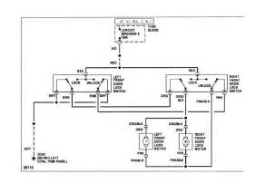 power lock wiring diagram door lock relay location