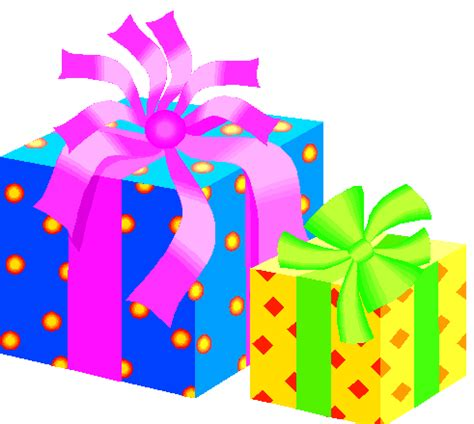 birthday presents images clipart best