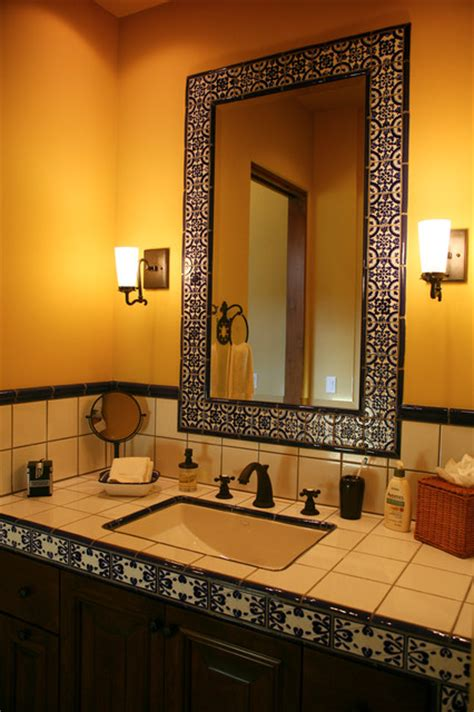 talavera bathroom more baths from latin accents tiles mediterranean