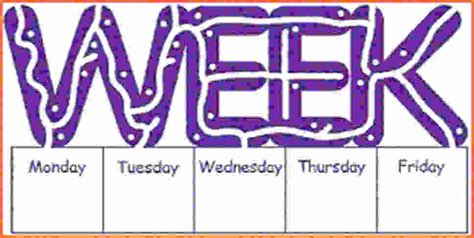 monday through friday calendar 2012 052 pages mon thru fri