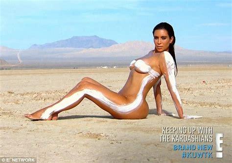 kim kardashian s nude photoshoot on keeping up with the