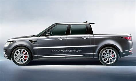 range rover pickup range rover sport pickup truck rendered autoevolution