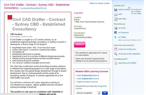 Civil Drafter Cover Letter by Civil Drafter Cover Letter