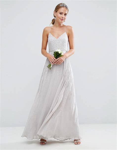 Bridesmaid Dresses Uk Asos - asos grey bridesmaid dress weddings dresses
