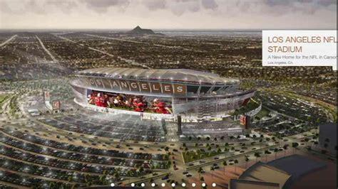 chargers raiders la stadium new renderings released of proposed nfl stadium in