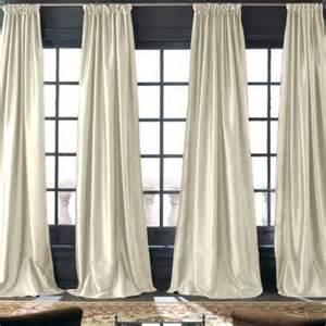 jcpenney silk drapes royal velvet 174 grandeur silk rod pocket back tab curtain