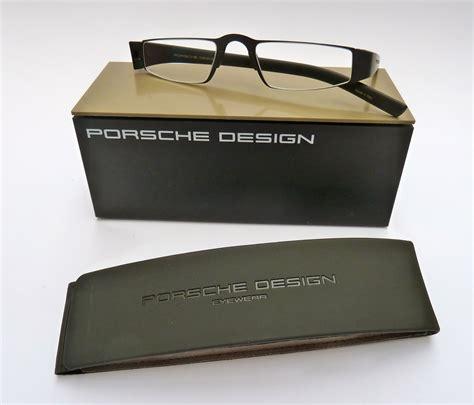 Porsche Lesebrille by Porsche Design 174 Lesebrille 8801 P Schwarz Matt Spezial