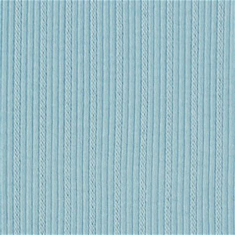 striped cotton knit fabric sky blue embroidered stripe cotton ribbing knit fabric
