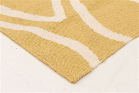 yellow flat weave rug wool flat weave oval print rug yellow runner wool kilims beyond bright