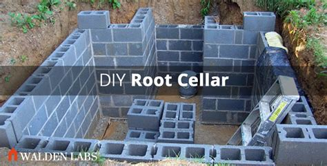 Small Efficient House Plans How To Build A Root Cellar In 7 Steps Walden Labs