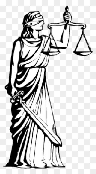 Library of blindfolded lady of justice jpg transparent