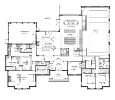 3600 square foot house custom house plan for a recent client 3 600 square