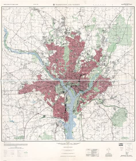 washington dc map scale large scale detailed topographical map of washington and