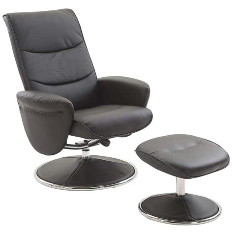 cheap leather chair and ottoman set find for with prepare