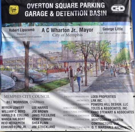 powers hill design llc overton square detention garage site design memphis tn