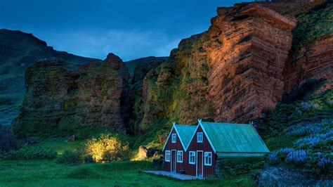 landscape nature cabin barns wallpapers hd desktop