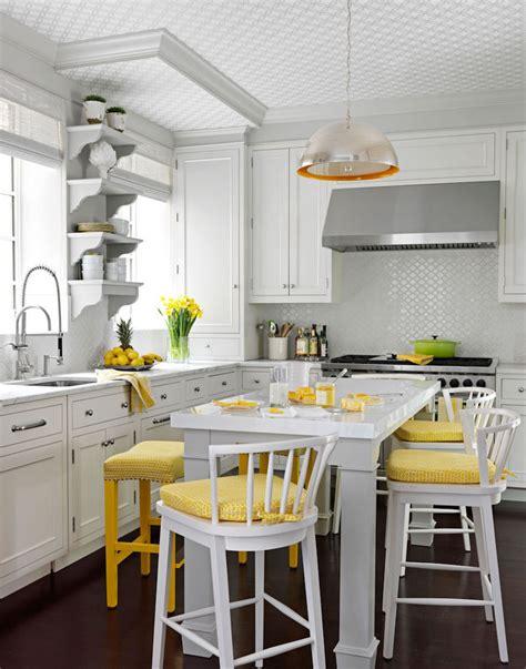 cuisine proven軋le jaune quelle couleur pour une cuisine chic 40 id 233 es de