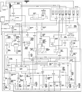 80 toyota alternator wiring diagram get free image about