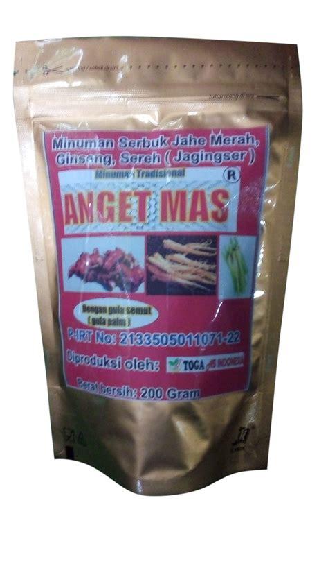 Ekstrak Ginseng minuman ekstrak jahe merah ginseng sereh jagingser