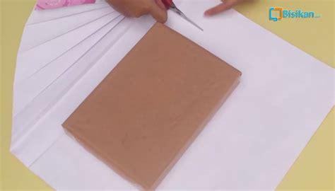 tutorial bungkus kado buat cowok cara membungkus kado unik bentuk kipas