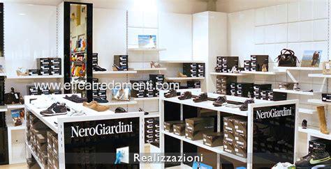 arredamenti negozi calzature esempi di arredo negozi effe arredamenti