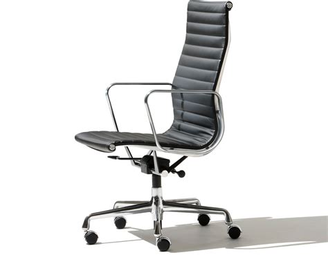 miller upholstery eames 174 aluminum group executive chair hivemodern com
